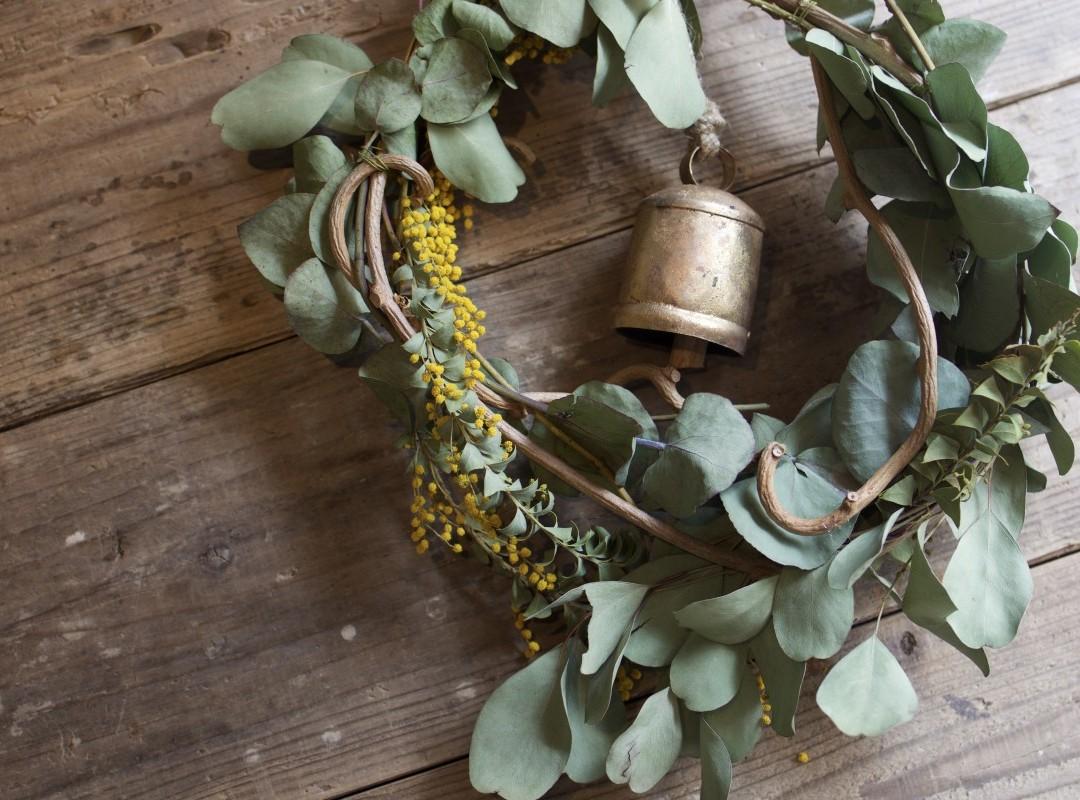dayflower wreath