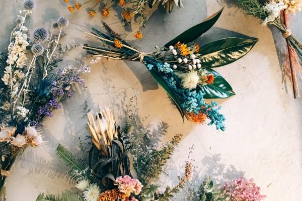 dayflower bouquet