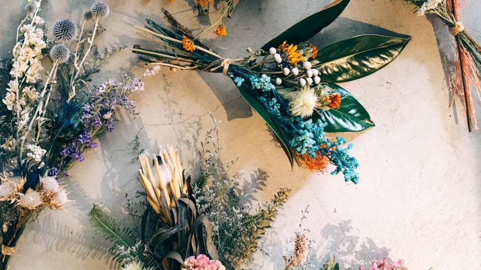 ココボタニカルのドライフラワーのイメージ写真「flower」